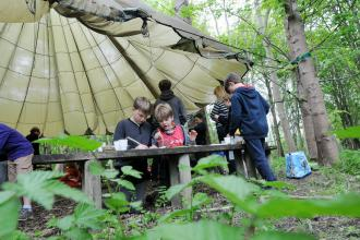 Hope Forest School, Derbyshire Wildlife Trust
