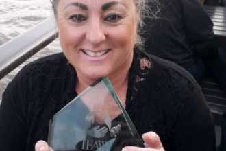 Debbie Bailey IFAW award 2018
