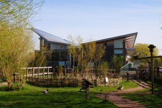 Attenborough Nature centre by Amy Lewis
