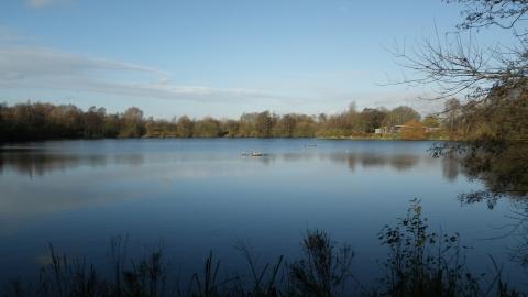 Hilton Gravel Pits Derbyshire Wildlife Trust