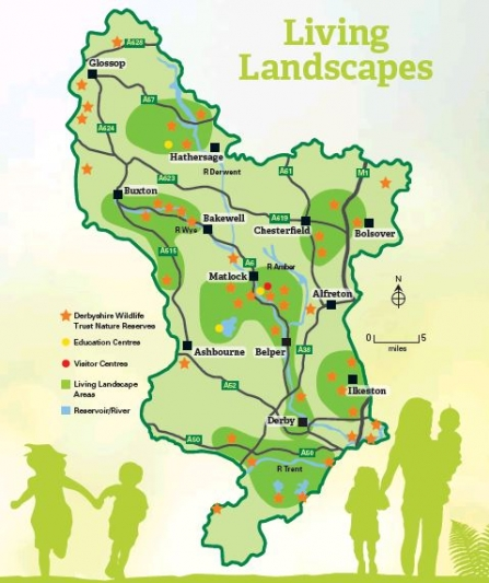 Living Landscapes map