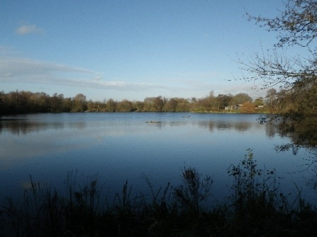 Hilton Gravel Pits main pool, Kelvin Lawrence