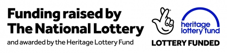 Heritage Lottery Fund grant awarded logo