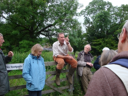 Wye and Upper Derwent Local Group visit to Lathkill Dale